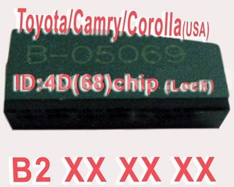 Toyota / Camry / Corolla 4 d 68 kunci apapun Duplicable Chip B2XXX Auto Transponder Chip